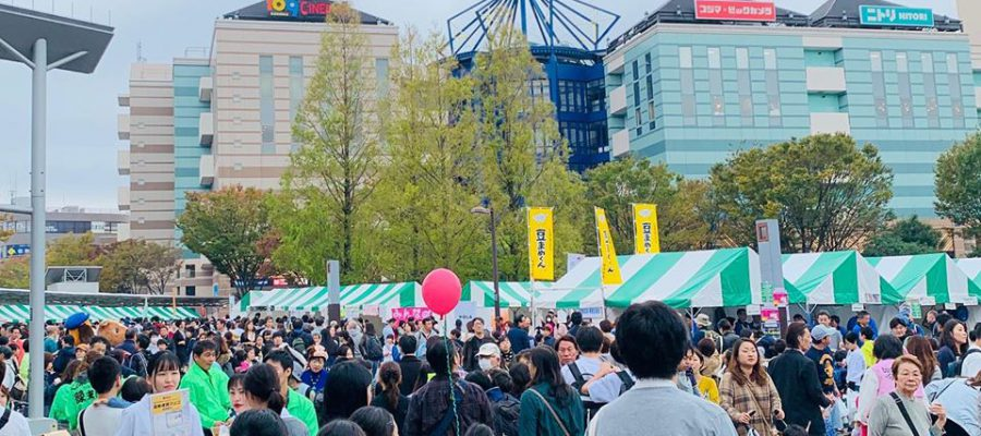 大盛況の都筑区民祭